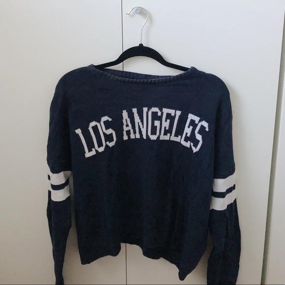 Brandy Melville Sweaters - Brandy Melville LA sweater